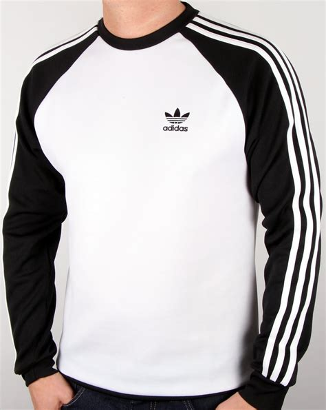 Conbipel Original Top White adidas originals superstar crew neck white black s jumper top