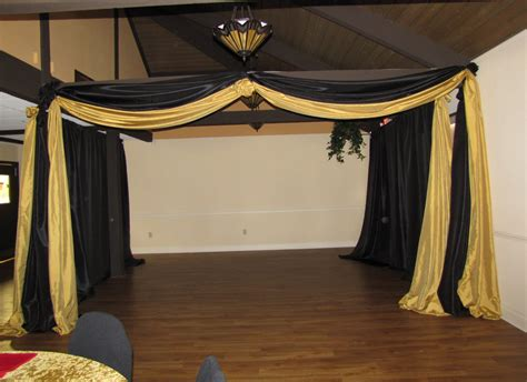 Pipe And Draping Party People Event Decorating Company 50th Birthday