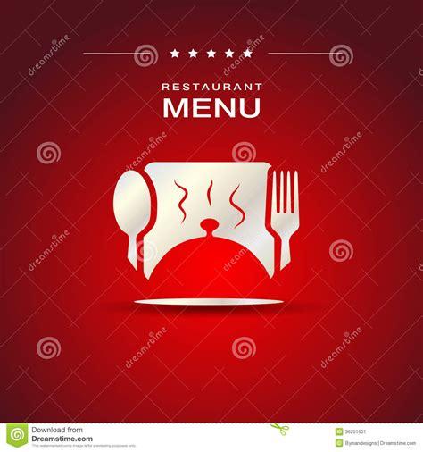 restaurant cover layout restaurant menu cover design stock image image 36201601