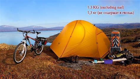 Tenda Great Outdoor 2 Person 1 5kg Naturehike Ultralight Tent 1 Person Outdoor Cing