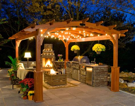 Customer's Photo   12x16 Treated Pine Arched Pergola