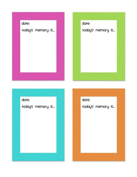 printable memory jar labels pin by susan bartlome wells on cute and crafty pinterest