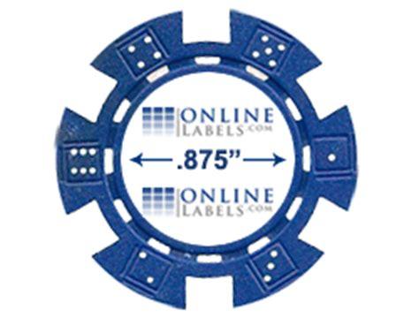 poker chip labels diy blank labels  poker chips