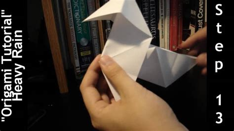 Heavy Origami Tutorial - origami bird tutorial in 13 steps heavy