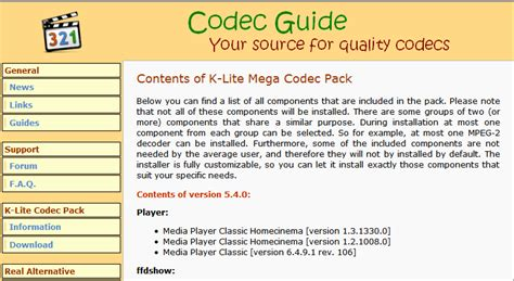 codecs for android k lite codec pack for android free