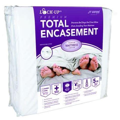bed bug encasement jt eaton lock up total encasement bed bug protection for