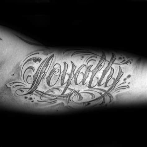 50 loyalty tattoos for men faithful ink design ideas