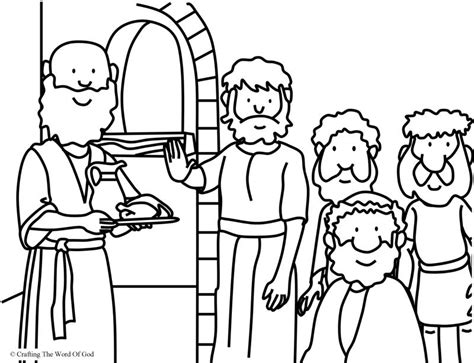 free printable coloring pages of daniel in the lion s den daniel refused the kings food coloring page coloring