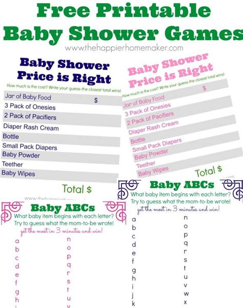 free printables baby shower games ideas free cute baby shower game printables cm printables