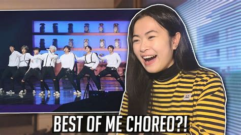 bts best of me bts best of me live reaction 4th muster youtube