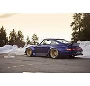 Tuners PUR Porsche 993 RWB Afbeeldingen  Autoblognl