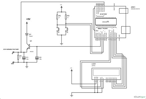 variable resistor microcontroller variable resistor using microcontroller 28 images 4 bit lcd interfacing engineer experiences