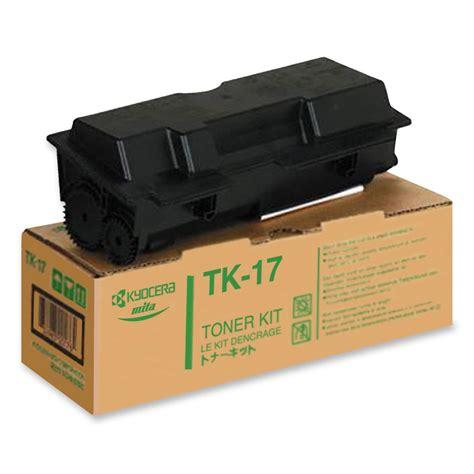 Toner Kyocera kyocera mita tk 17 toner cartridge made by kyocera mita