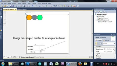 tutorial arduino visual basic kinect controls arduino wired servos using visual basic