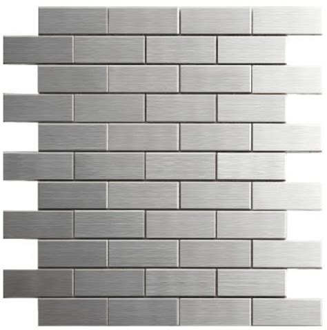 building materials metal mosaic stainless steel tile