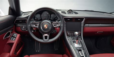 porsche interior 2017 porsche 911 turbo s review specs and price 2019