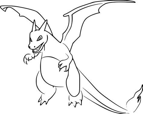 Coloriage Dracaufeu Pokemon Go 224 Imprimer Sur Coloriages Info