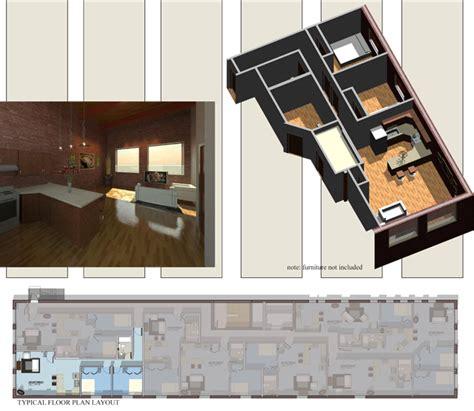 Two Bedroom Floor Plans apartment 207 307 407
