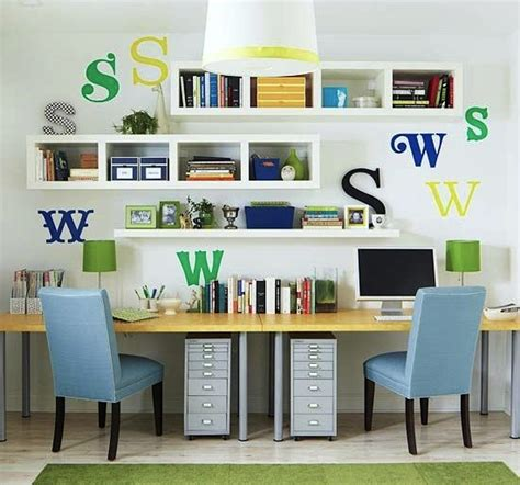desk for 2 kids home room series places to study kidspace interiors