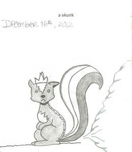 004 a skunk 642 things to draw