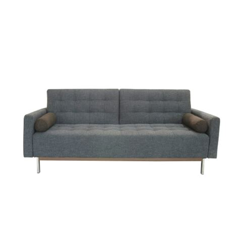 grey click clack sofa bed click clack gray the smart sofa touch of modern