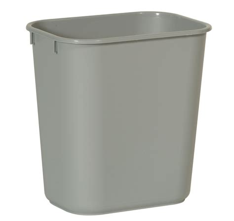 small wastebasket 12 9 liter rubbermaid small wastebasket trashcans warehouse