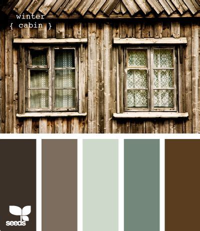 Cabin Color Schemes by 1000 Ideas About Cabin Paint Colors On