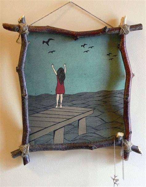 cornice legno da decorare cornici creative tante idee per decorare le pareti con il