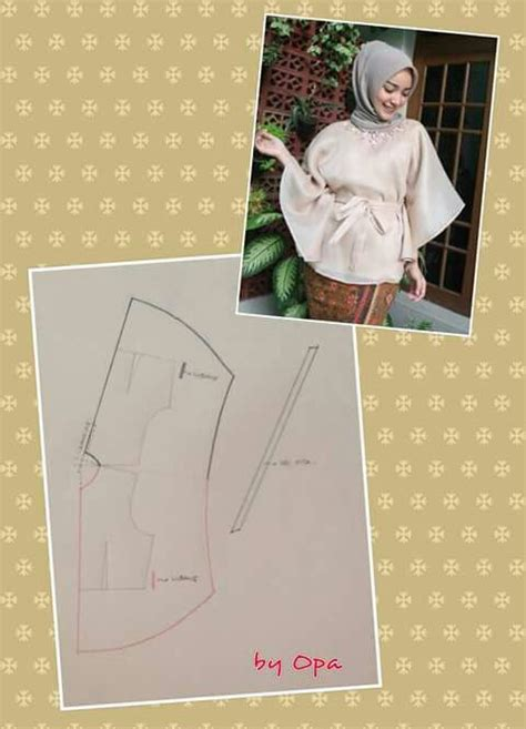 membuat pola baju blouse best 25 pola baju kebaya ideas on pinterest gaun muslim