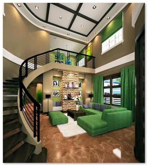 desain interior rumah nuansa hijau desain interior rumah warna hijau desain rumah unik