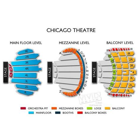 chicago theater floor plan 17 best images about concert venues on pinterest parks