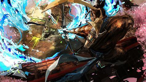 Overwatch Reaper Overwatch Widowmaker Iphone Dan Semua Hp hanzo vs genji overwatch wallpaper 29054