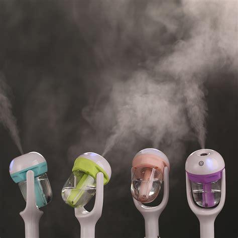 Car Vehicle Aromatherapy Humidifier Pewangi 12v car steam air humidifier aroma diffuser mini air purifier aromatherapy essential