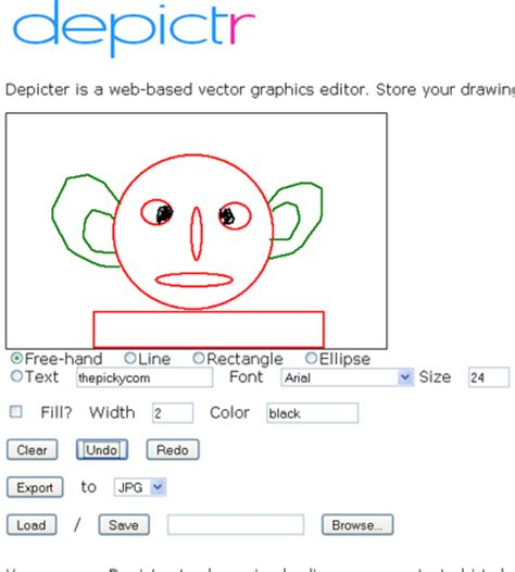 easy  drawing creator thepicky