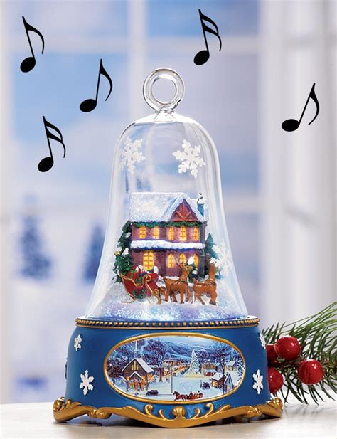 lighted musical bells santa s sleigh lighted musical bell collectible