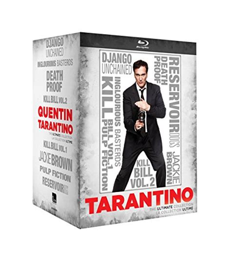 quentin tarantino film print collection quentin tarantino ultimate collection blu ray video