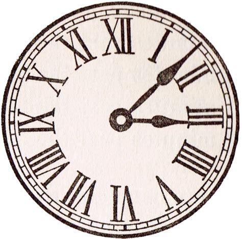 printable clock book antique clock face graphics from school book antique