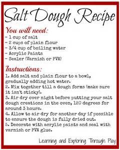 salt dough recipe quick and simple salt dough easy salt