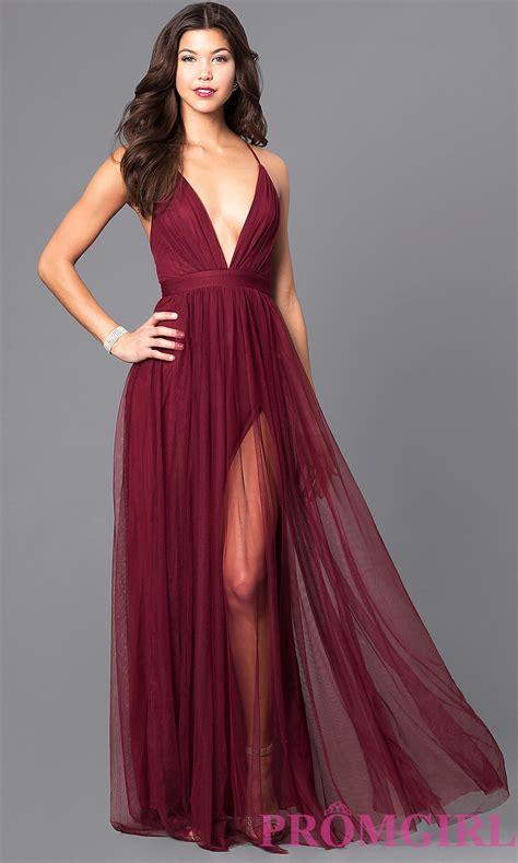 Prom Dresses prom dress with v neckline promgirl