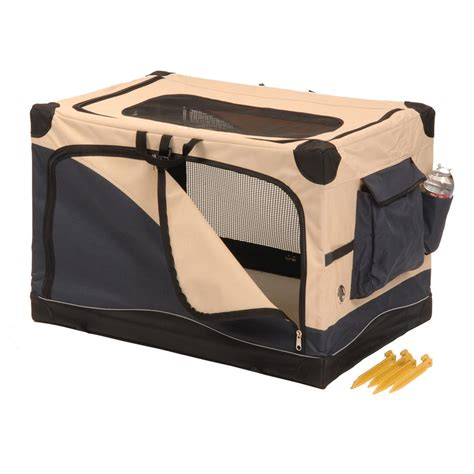 precision crate precision pet 174 soft side pet crate 42x28x27 quot 174241 kennels beds at sportsman s