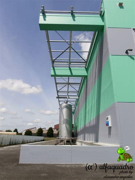 tettoie in acciaio tettoia di acciaio coperture prefabbricate bologna