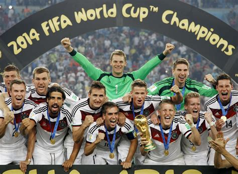 germany world cup germany wins fourth world cup the korea times