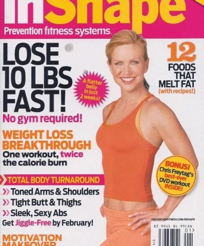 prevention magazine  reshape  body workout march