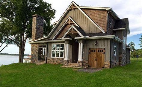 Small Lake Cottage Floor Plan Max Fulbright Designs Small Lake Cottage House Plans