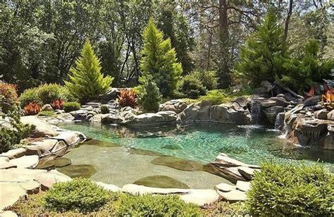backyard lagoons magnificent backyard lagoon home garden wish list