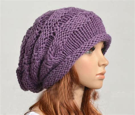 Handmade Knitted Hats - wool handmade knitted hat on luulla