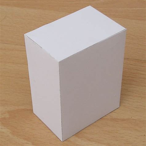 How To Make Cuboid With Paper - paper rectangular prism cuboid