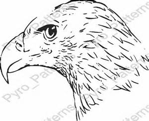 wood burning templates free pyrography wood burning bald eagle bird pattern printable