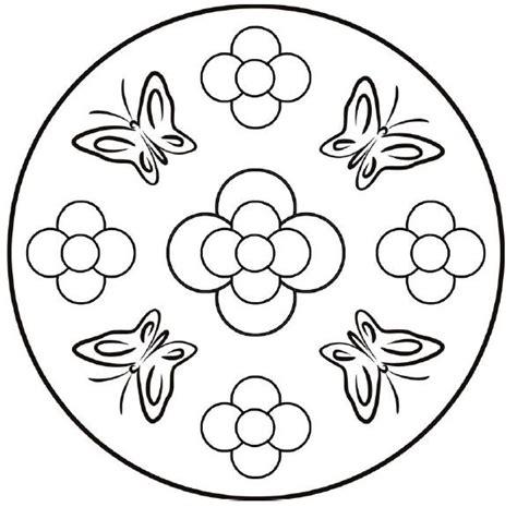 imagenes de mandalas de mariposas para colorear pin by i t on mandala flowers pinterest mandala