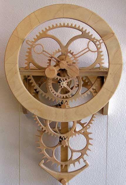 wooden gear clock plans  evelyn dillard blog